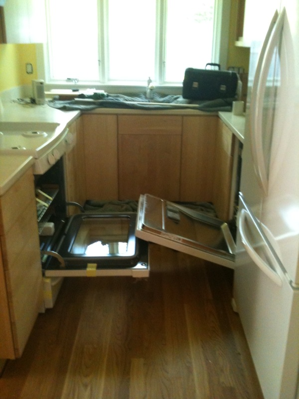 How to put a dishwasher in? (countertop, drain, ceramic, sink) - House ...